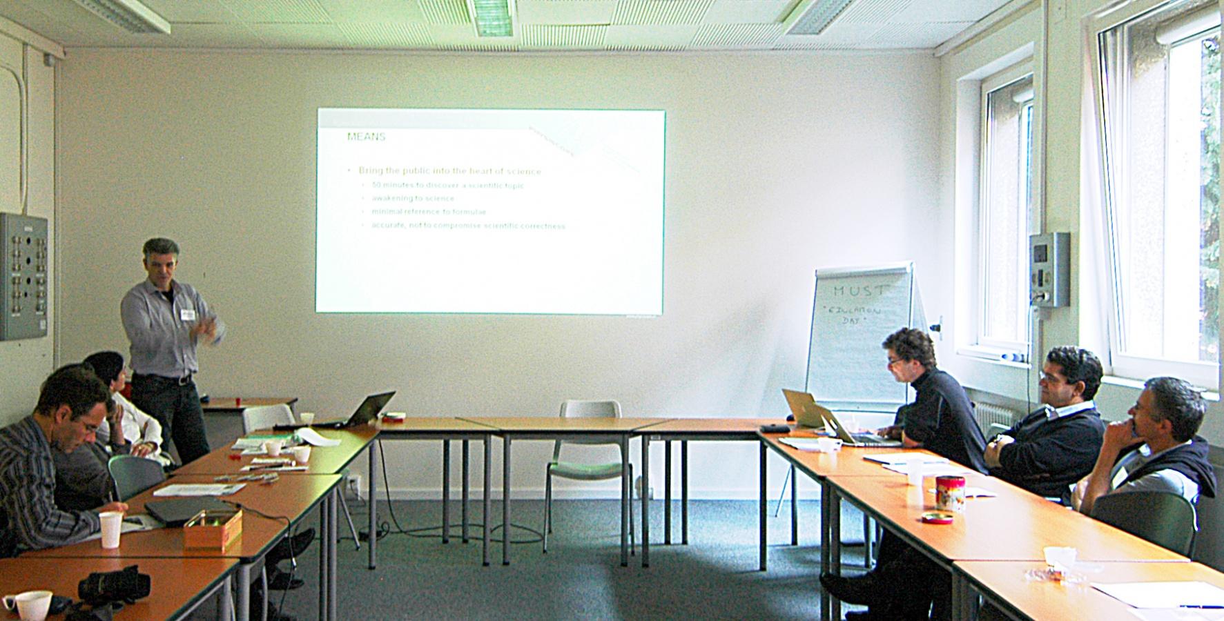 Education Day Geneva 2011 :: NCCR MUST
